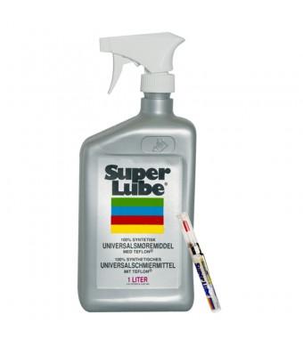 SUPER LUBE 1 L. MED LUFTPUMPE