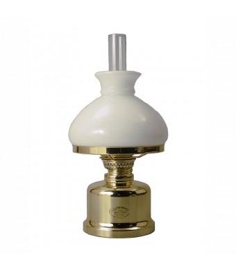 OLD DANISH TABLE LAMP - MESSING