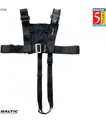 Sikkerheds sele voksen Sort BALTIC 0104 Str:1/50+