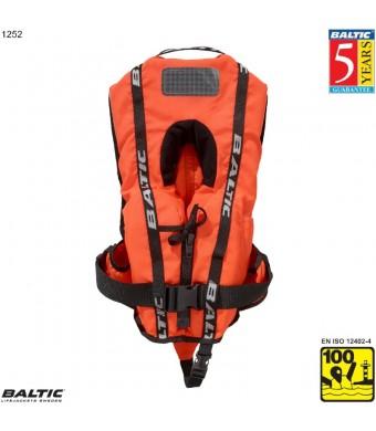 Bambi Super Soft rednings vest Orange BALTIC 1252 Str:1/3-12