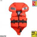 Split Front Børne rednings vest Orange BALTIC 1254 Str:1/3-15