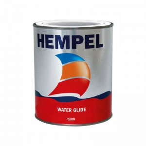 HEMPEL WATER GLIDE BUNDMALING SORT 3/4L