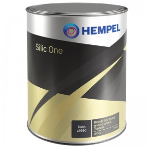 HEMPEL SILIC ONE BUNDMALING - SORT 750ML