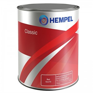 HEMPEL CLASSIC BUNDMALING - RØD 50000 750ML