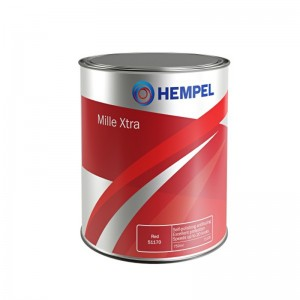 HEMPEL MILLE XTRA BUNDMALING - SORT 750ML