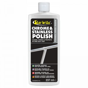 CHROME & SS POLISH 250ML