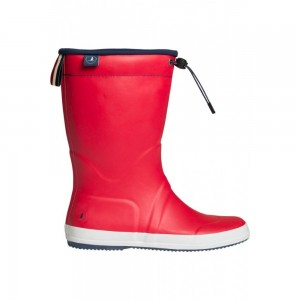 KEY WEST RUBBERBOOT RED STR. 40