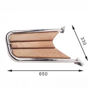 STÆVNPLATFORM 330 x 650 /Ø32mm
