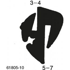 VINDUESLISTE SK5-7/GL3-4 MM