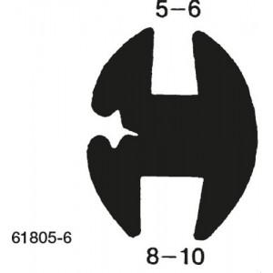 VINDUESLISTE SK8-10/GL5-6MM