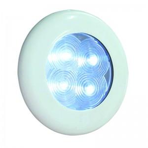 LED LYS - HVID RING