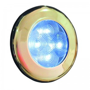 LED LYS - BRONZE FARVET RING