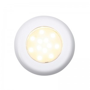 NOVA LIGHT HVID M/9 LED Ø77/50