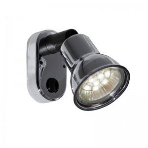 MINI SKOTLAMPE LED 12V M/AFB.