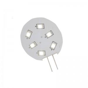 LED PÆRE - 6LED G4 8-30V