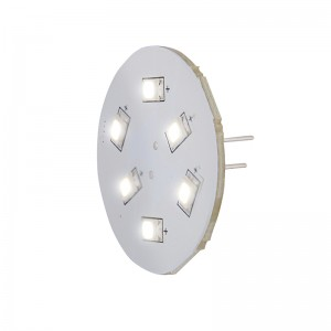 LED G4 8-30V 6 DIODER HVID