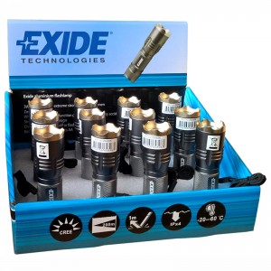 FLASHLIGHT EXIDE LED LYGTE