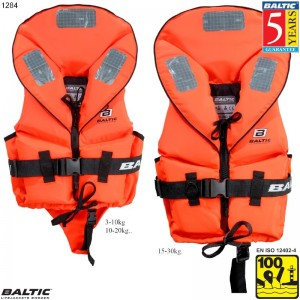 Pro Sailor rednings vest Orange BALTIC 1284 Str:3/15-30