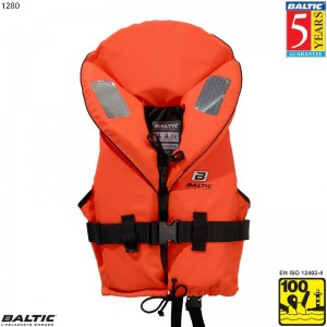 Skipper rednings vest Orange BALTIC 1280 Str:1/3-10