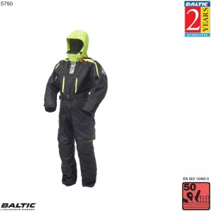 Polaris Flydedragt Sort BALTIC 5790 Str:7/XXXL_100++