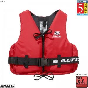 Aqua Pro Svømmevest Rød BALTIC 5801 Str:3/L_70-90