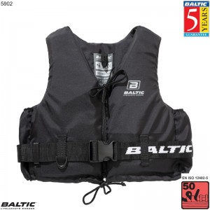 Aqua Pro Svømmevest Sort BALTIC 5802 Str:1/S_30-50