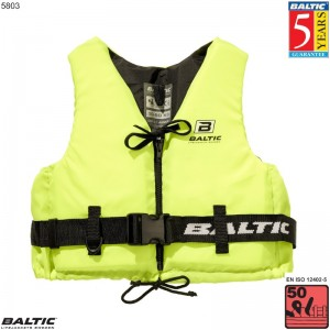 Aqua Pro Svømmevest UV-Gul BALTIC 5803 Str:4/XL_90+