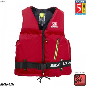 Axent Sejlervest Rød BALTIC 5811 Str:2/M_50-70