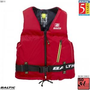 Axent Sejlervest Rød BALTIC 5811 Str:3/L_70-90