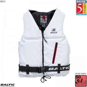 Axent Sejlervest Hvid BALTIC 5813 Str:3/L_70-90