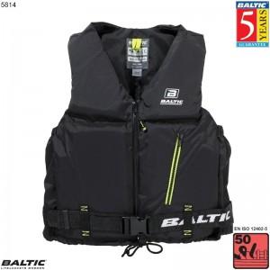 Axent Sejlervest Sort BALTIC 5814 Str:1/S_30-50