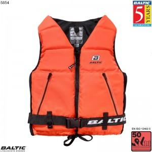 Super Soft II sejlervest Orange BALTIC 5854 Str:3/L_70-90