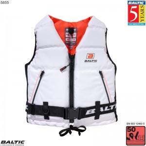 Super Soft II sejlervest Hvid BALTIC 5855 Str:2/M_50-70
