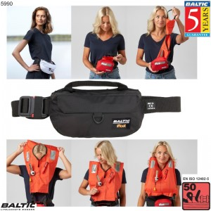 iFloat 50N Softbag manuel Sort BALTIC 5990 Str:1/40-130