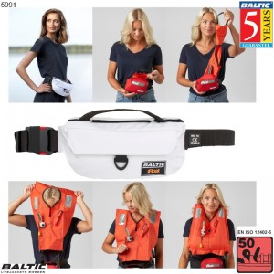 iFloat 50N Softbag manuel Hvid BALTIC 5991 Str:1/40-130