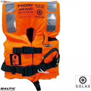SOLAS 2010 Infant Std 0-15 Orange BALTIC 1035 Str:1/0-15