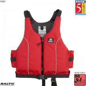 Radial jolle / kajak vest Rød BALTIC 5420 Str:3/S/M_50-70