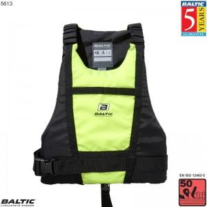 Paddler kano / kajak vest UV-Gul/Sort BALTIC 5613 Str:1/S_30-50