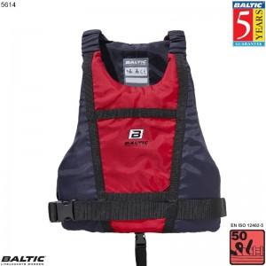 Paddler kano / kajak vest Rød/Navy BALTIC 5614 Str:2/M_50-70