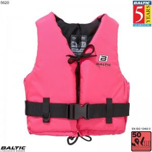 Aqua Svømmevest Rosa BALTIC 5620 Str:1/S_30-50