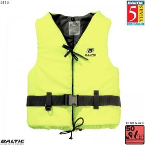 Aqua Svømmevest UV-Gul BALTIC 5116 Str:1/S_30-50