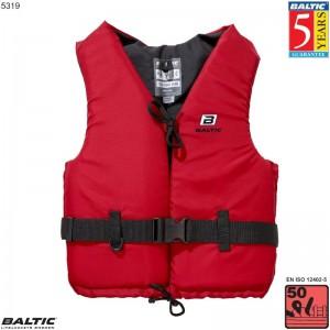 Aqua Svømmevest Rød BALTIC 5319 Str:1/S_30-50