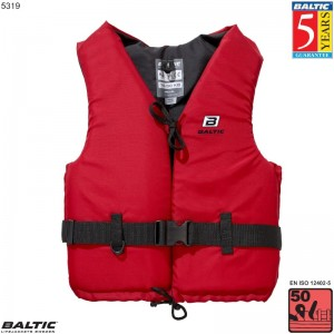 Aqua Svømmevest Rød BALTIC 5319 Str:3/L_70-90