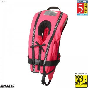 Bambi Super Soft rednings vest Rosa BALTIC 1264 Str:1/3-12