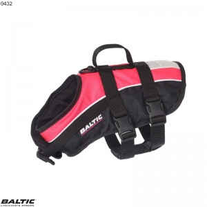 Hundevest Macot Rosa/Sort BALTIC 0432 Str:3/L_15-40