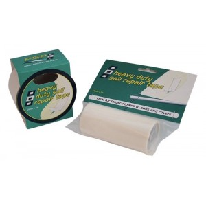 SEJLTAPE TRANSPARENT 75MM X 4.5